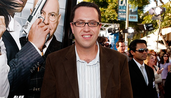 "Subway Jared Fogle jared-fogle_getty-resized.jpg Warner Bros. World Premiere Of ""Get Smart"" - Arrivals WESTWOOD, CA - JUNE 16:  Author Jared Fogle arrives at Warner Bros. World Premiere of ""Get Smart"" held at the Mann Village Theatre on June 16, 2008 in Westwood, California.  (Photo by Kevin Winter/Getty Images)"