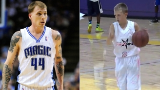 Meet 'White Chocolate, Jr.', Jason Williams' Ankle-Breaking 13-Year-Old Son