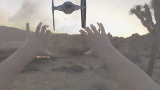 'Jedi With A GoPro' Might Be The Greatest 'Star Wars' Fan Video Ever