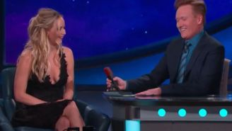 We have to accept that J-Law's Cher impression is awful