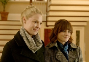 Katherine Heigl And Alexis Bledel Couldn't Look Less Happy To Marry In The 'Jenny's Wedding' Trailer