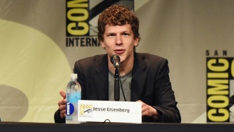 Jesse Eisenberg Likens Attending Comic-Con To Enduring 'Some Kind Of Genocide'