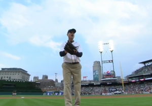Jim Harbaugh Continues To Do Everything In Life Wearing Khakis