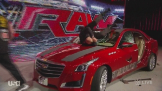 The Best And Worst Of WWE Raw 7/6/15: Destroying A Cadillac With A Mercury