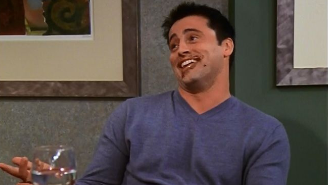 Proof That The Real 'Friends' Love Story Is Between Joey And Food