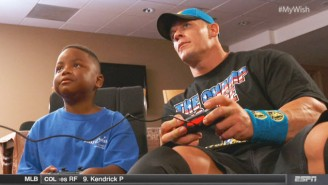 Watch John Cena And WWE Make A Sick Kid's Dream Come True