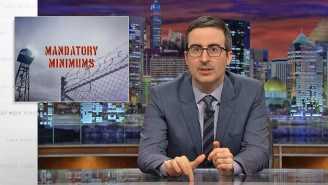 Watch John Oliver Weigh In On Mandatory Minimums