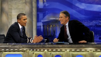 What Were Jon Stewart And Barack Obama Discussing During Their Secret White House Visits?