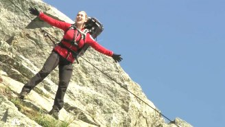 Kate Winslet Recreated Her 'Titanic' Pose For Bear Grylls