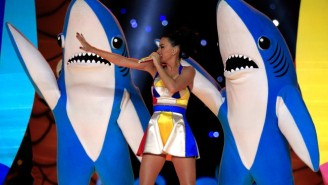 Katy Perry Was Nominated For An Emmy For Her Super Bowl Halftime Performance