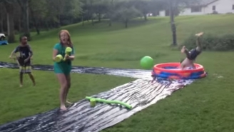 Kiddie Pool Kickball Is A New Twist On An Old Classic