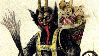 How did Krampus become the hottest monster in horror movies?