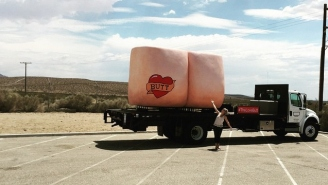 Why Is This Comedian Driving A Giant Butt Across America?
