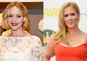 Here's A Bikini-Clad Jennifer Lawrence And Amy Schumer In A Human Pyramid