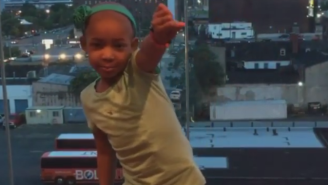 Steph Curry's Daughter Has Been Challenged To A Dance Off By Leah Still