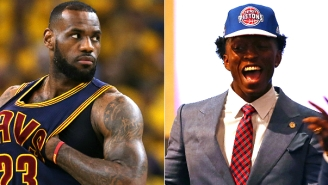 Pistons Rookie Stanley Johnson Says 'I Have A Target On' LeBron James