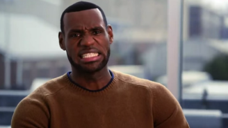 LeBron James Reminds Us He's Still Hilarious In This Behind-The-Scenes Video From 'Trainwreck'