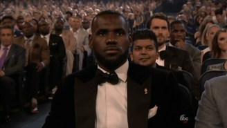 LeBron James Says He'll 'Take This Second Place Award' At The ESPYs