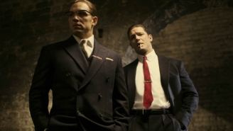 This 'Legend' Poster Uses Tom Hardy's Head To Brilliantly Cover Up A Bad Review