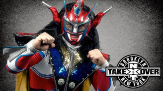 Jushin 'Thunder' Liger Is Set To Compete At NXT Takeover: Brooklyn