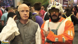 Bobby Moynihan And Chris Gethard Dressed As Everyone's Favorite 'Star Wars' Characters At Comic-Con
