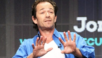 Luke Perry Will Not Watch Lifetime's 'Unauthorized Beverly Hills, 90210'