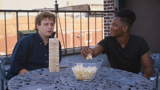 Mac DeMarco And Shamir Interviewed Each Other While Playing Jenga
