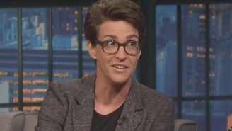 Rachel Maddow Says Donald Trump's Presidential Campaign Is 'A Gift From God'