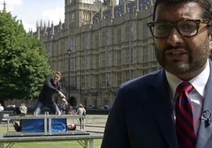 This Viral Video Of Magicians Videobombing A News Reporter Was Actually Just A PR Stunt