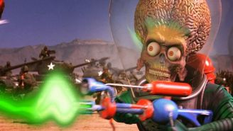 Bask In The B-Movie Goodness Of 'Mars Attacks' With These Lines