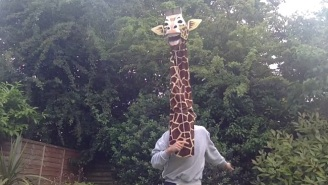 Please Allow This Giraffe To Serenade You To The Sultry Sounds Of Marvin Gaye's 'Let's Get It On'