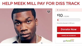 Someone Launched A GoFundMe To Help Meek Mill Pay For A Drake Diss Track