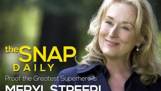 Proof that our greatest superhero is Meryl Streep