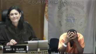This Judge Has A Tearful, Sobering Reunion With A Middle School Classmate In Court