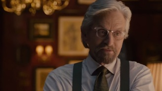 Hank Pym Forgot To Take Off His Grumpy Pants In This 'Ant-Man' Clip