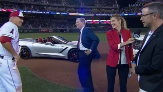 Mike Trout Wins Another Badass Car For Being The All-Star MVP Yet Again