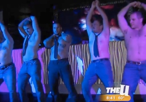 A Male Stripper Taught A Bunch Of Doofy Morning Show Hosts To Dance Like 'Magic Mike'