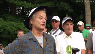 Watch Bill Murray Fantastically Troll Everyone At The John Deere Classic Pro-Am