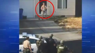 This Guy Allegedly Gave A Naked, Knife-Wielding Banjo Concert During A Standoff