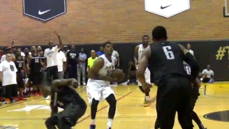 Watch Nick Young Drain The Game-Winner In Double OT At The Drew League