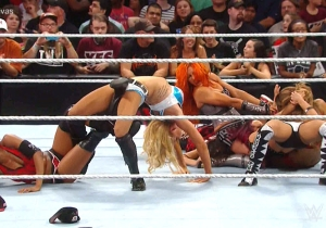 Watch NXT's Charlotte, Becky Lynch & Sasha Banks Make Their WWE Main Roster Debuts