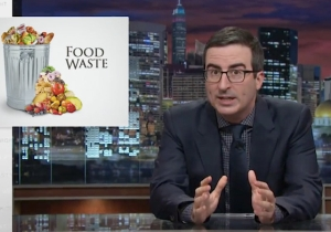 John Oliver Took On America's Systematic Problem With Food Waste On 'Last Week Tonight'