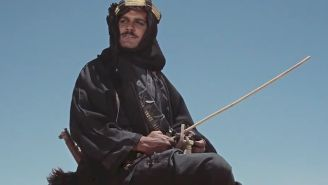 How the late Omar Sharif had one of the great movie introductions of all time