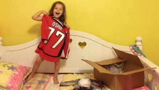 T.J. Oshie Sent A Huge Care Package To Cheer Up A Broken-Hearted Young Fan
