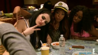 Paige & Alicia Fox Got Into A Drink-Throwing Fight With Fans At A Baltimore Steakhouse