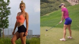 Let's Find Out Why Guys Of The Internet Are Losing Their Minds For This Coed Golfer