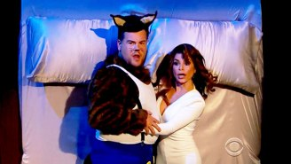 Paula Abdul And James Corden Reenacted The 'Opposites Attract' Video