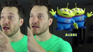 Watch Brock Baker Do Wicked Impressions Of Pixar Characters In Under Five Minutes