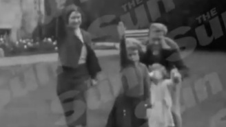 An Old Home Movie Has Surfaced Showing Queen Elizabeth II Performing A Nazi Salute