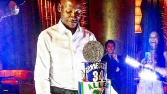 Ray Allen's SICK 40th Birthday Cake Marks Every Stop On His Hall-Of-Fame Career